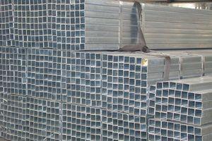 galvanized square pipe / GI square pipe  4