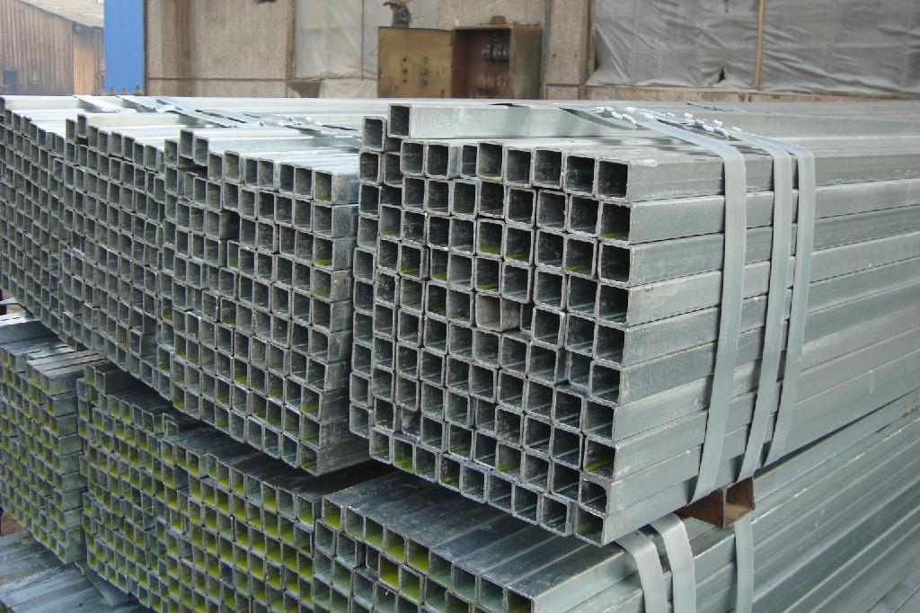galvanized square pipe / GI square pipe  2