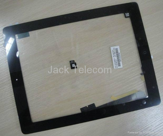 For iPad 4 Touch Panel Digitizer Screen Assembly Black  1