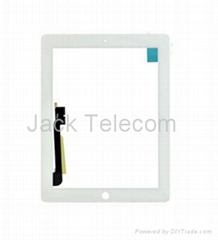 For iPad 3 Front Glass Digitizer Touch