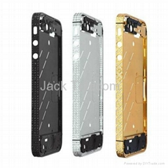 Luxurious Diamond Plated Mid Plate Bezel Frame For IPhone 4S