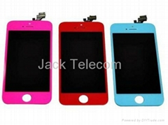 Color LCD Lens Screen Touch Digitizer Display Repairs For Iphone 5G