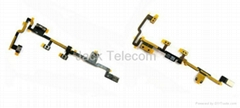 iPad 2 Power On Off Volume Flex Cable Ribbon