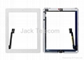 For iPad 3 Touch Screen Digitizer Assembly White OEM 1