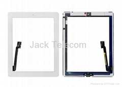 For iPad 3 Touch Screen Digitizer Assembly White OEM