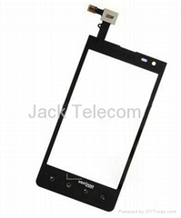LG Lucid VS840 Digitizer Touch Screen Front Glass