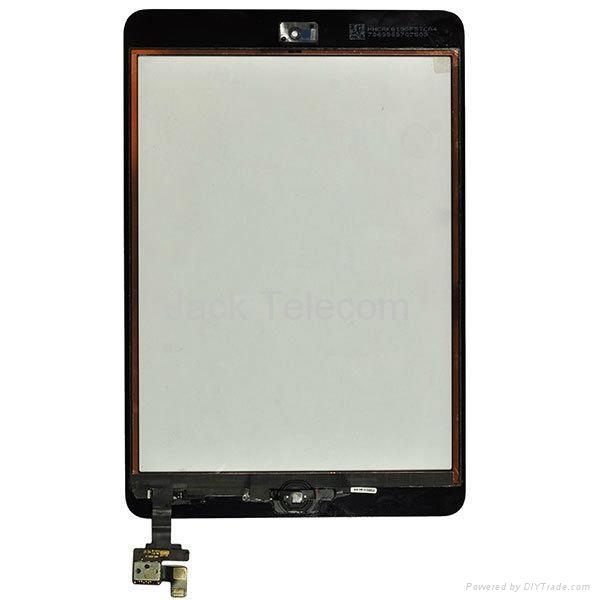 For iPad Mini Front Panel Touch Glass Lens Digitizer Screen Replacement Parts  1