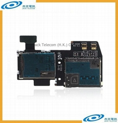 For Samsung Galaxy S4 Active i9295 SIM Card Slot and SD MeMory Card Reader Flex