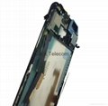 LCD & Digitizer Frame Assembly for HTC One (M8) - Dark Black / For HTC 4