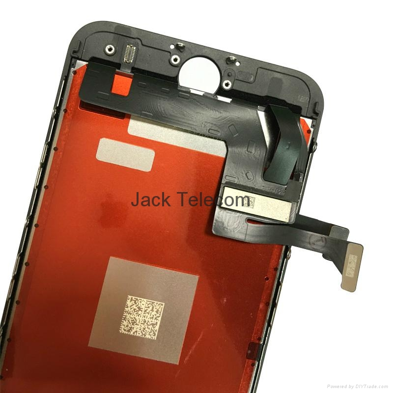 For iPhone 7 LCD Digitizer Assembly with Frame Black Replacement 2