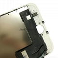 For iPhone 7 LCD Digitizer Assembly with Frame White Aftermarket