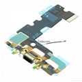 For iPhone 7 Connector Flex Cable black