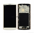 For LG  V10 Touch screen assembly with frame gold
