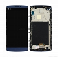 For LG v10 touch screen assembly with frame blue  1