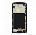 For LG v10 touch screen assembly with frame blue