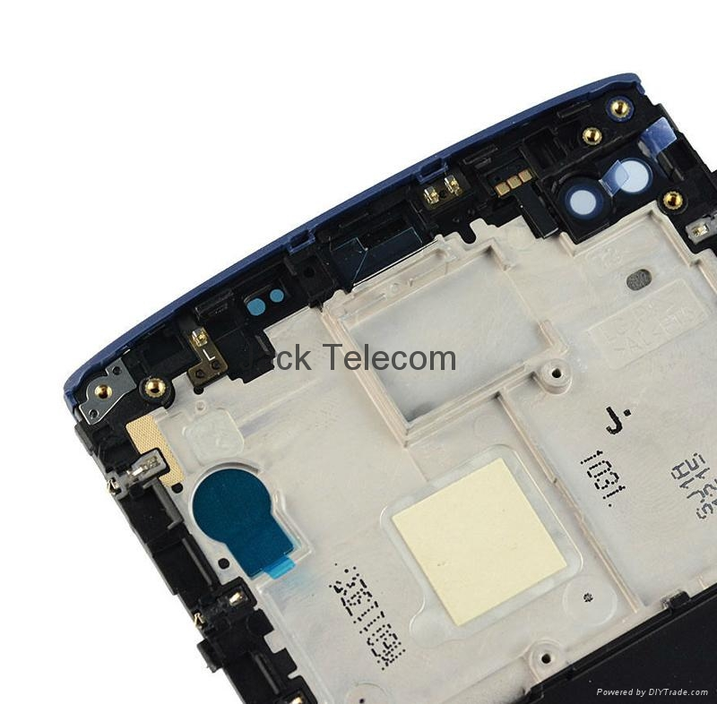 For LG v10 touch screen assembly with frame blue  4