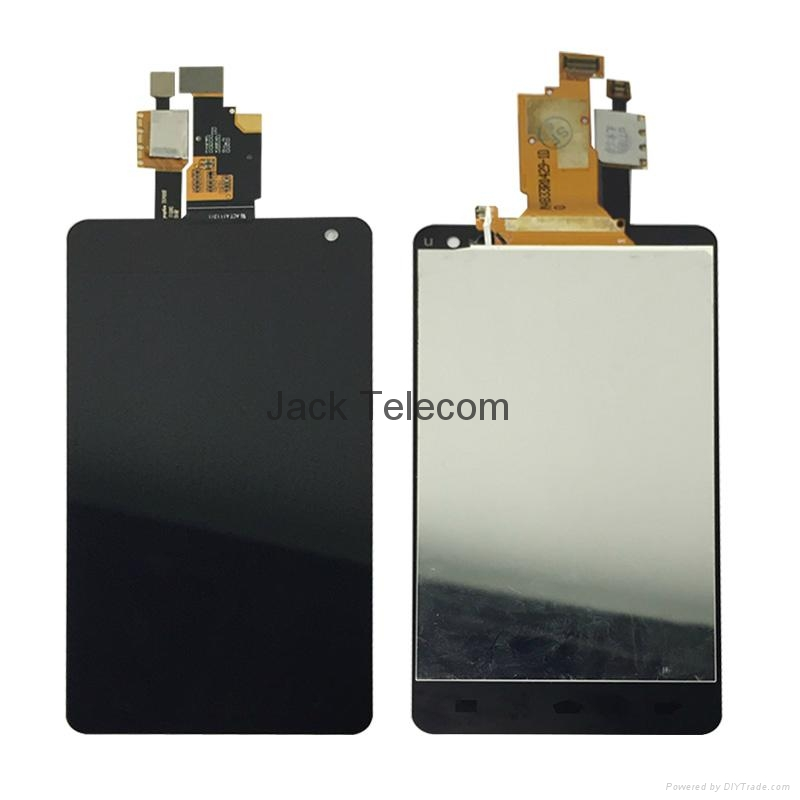 For LG Optimus G touch screen assembly Black