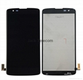 For LG K8 Touch Screen Assembly black