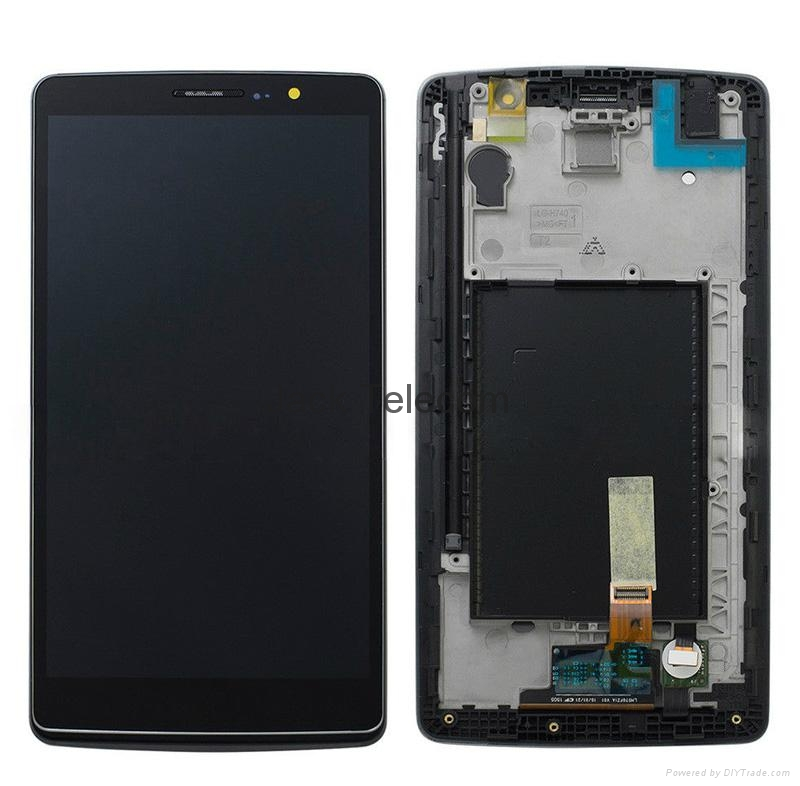 For LG H740 Touch screen assembly with frame black