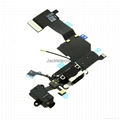 Purple for Iphone 5C charge connector flex cable