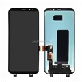 for Samsung S8 LCD Screen Display with frame Original 5