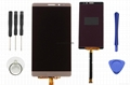 For Huawei Mate 8 lcd screen assembly gold