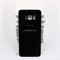 for Samsung S8 back cover black