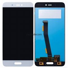 For Xiaomi 5 lcd screen assembly white