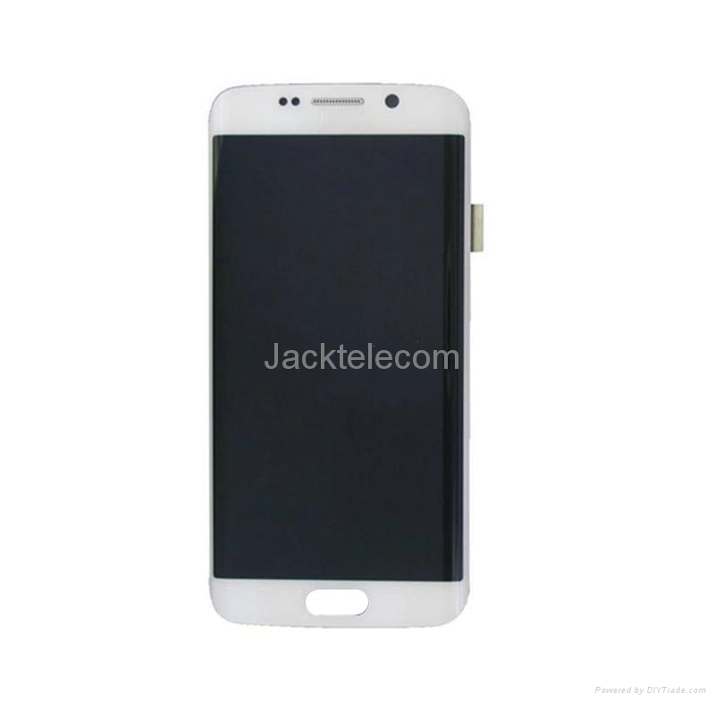 For Samsung S6 edge LCD and Digitizer Assembly with Frame Original 2