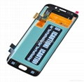 For Samsung S6 edge LCD and Digitizer Assembly with Frame Original