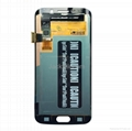 For Samsung S6 edge LCD and Digitizer Assembly with Frame Original 3