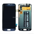 For Samsung S6 edge LCD and Digitizer Assembly with Frame Original 5