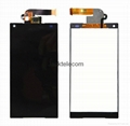 For Sony Z5 mini lcd touch screen replacement black