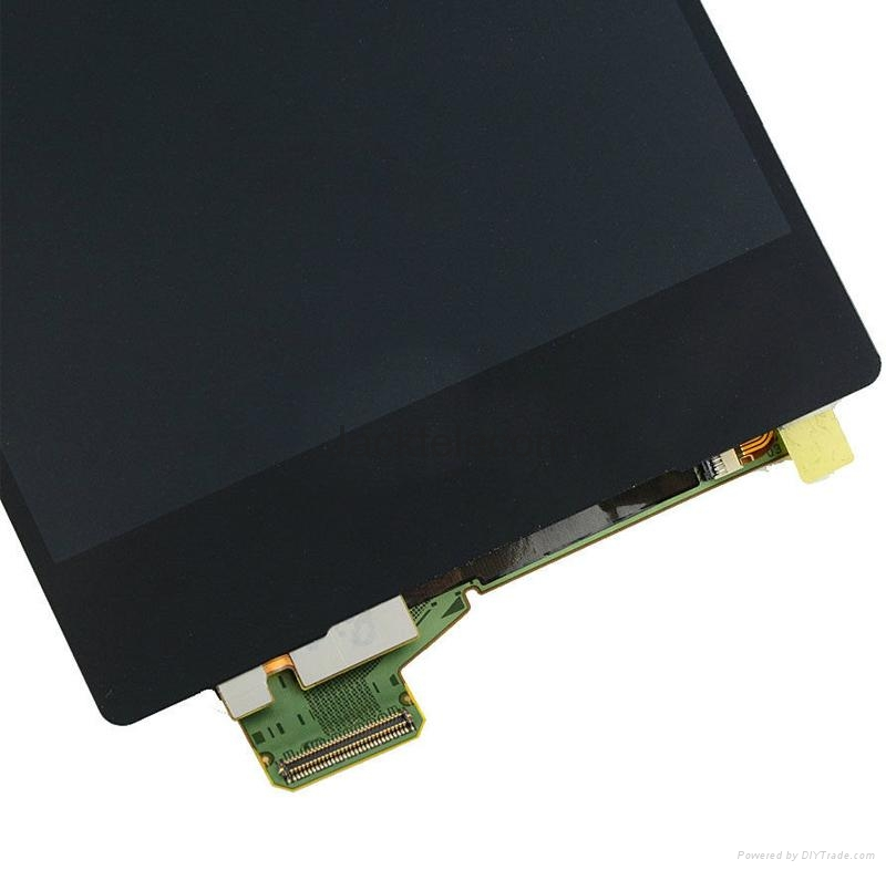 For Sony Z5 premuim lcd touch screen replacement black 4