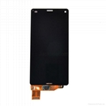 For Sony Z3 mini lcd touch screen replacement black