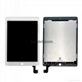 For iPad Air2 LCD+Touch Screen Assembly Refurbished white 5