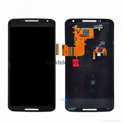 For Motorola Google 6 lcd touch screen assembly black
