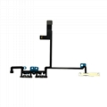 For iPhone X Volume  Flex Cable with Bracket