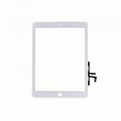 For iPad Air Digitizer glass touch screen White