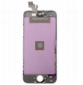 For iPhone 5 LCD with Digitizer Touch Screen Assembly Aftermarket Black