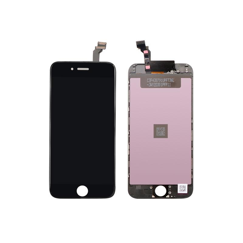 For iPhone 6 Digitizer LCD Front Screen Assembly Aftermarket  Black 1