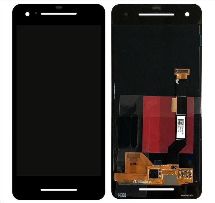 For Google Pixel 2 5.0'' LCD Screen Replacement Black 1