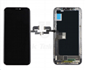 For iPhone X LCD Digitizer Frame Assembly Black Aftermarket  1