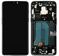 For OnePlus 6 LCD Display Screen with Frame Replacement