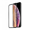 For iPhone Xs Round edge full edge tempered glass    4