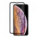 For iPhone Xs Max Round edge full edge