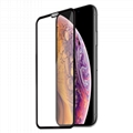 For iPhone Xs Max Round edge full edge tempered glass