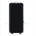 For Samsung S8 LCD and Digitizer Assembly Black Original