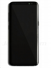 For Samsung S8 Plus LCD and Digitizer Assembly with Frame Black Original  (Hot Product - 1*)