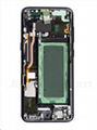 For Samsung S8 Plus LCD and Digitizer Assembly with Frame Black Original